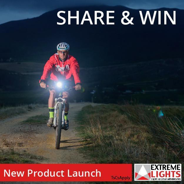New Product Launch Endurance+ Remote Cycle Light