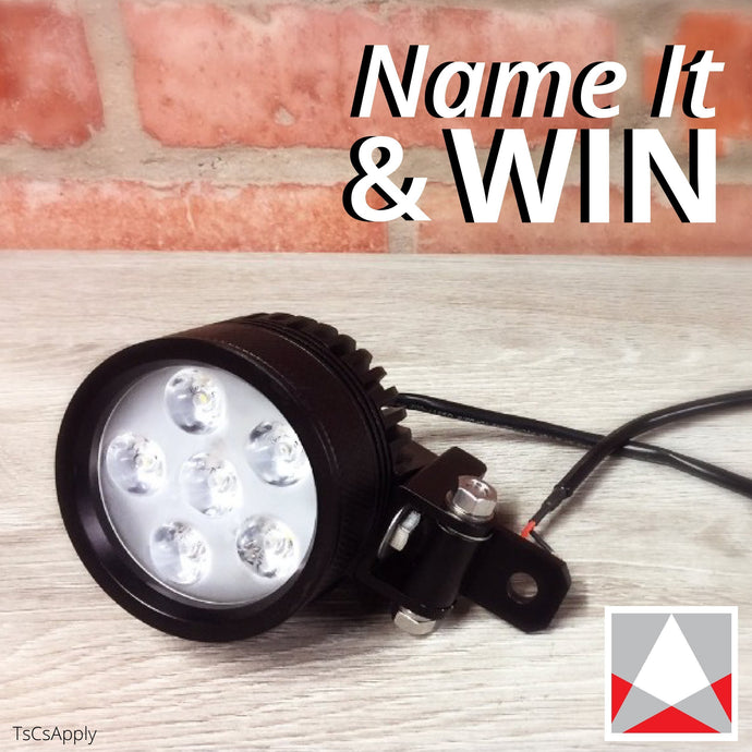 Name Our New Motorbike Light & Win