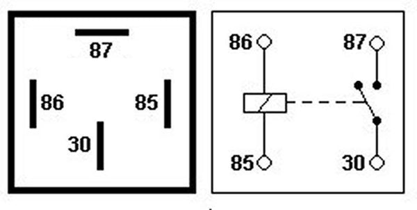 30 And 87 Create The Switch To Your Lights. By Default This Switch Is Open,  So The Current Cannot Get From The Battery To Your Lights.
