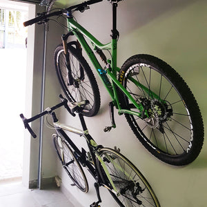 Extreme Lights | Wille Honde Bicycle Wall Mount Bracket - Set of 2 | the best Cycle Light Accessories ever!