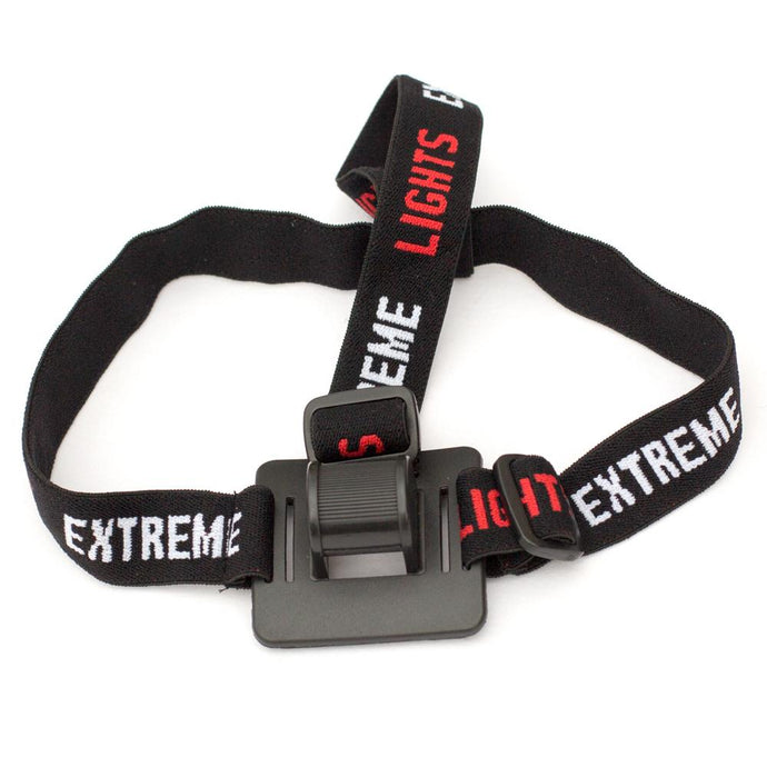 Extreme Lights | Cycle Light 3 band Elastic head strap | the best Cycle Light Accessories ever!