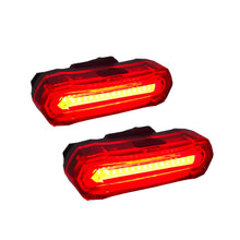 Extreme Lights | Phoenix USB Rechargeable Rear Bicycle Light - Set of 2 | the best Cycle Lights ever!