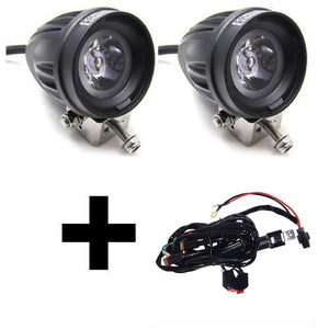 Extreme Lights | 2 X Premium Motorbike Spot & Relay Wiring Harness COMBO | the best Motorbike Lights ever!
