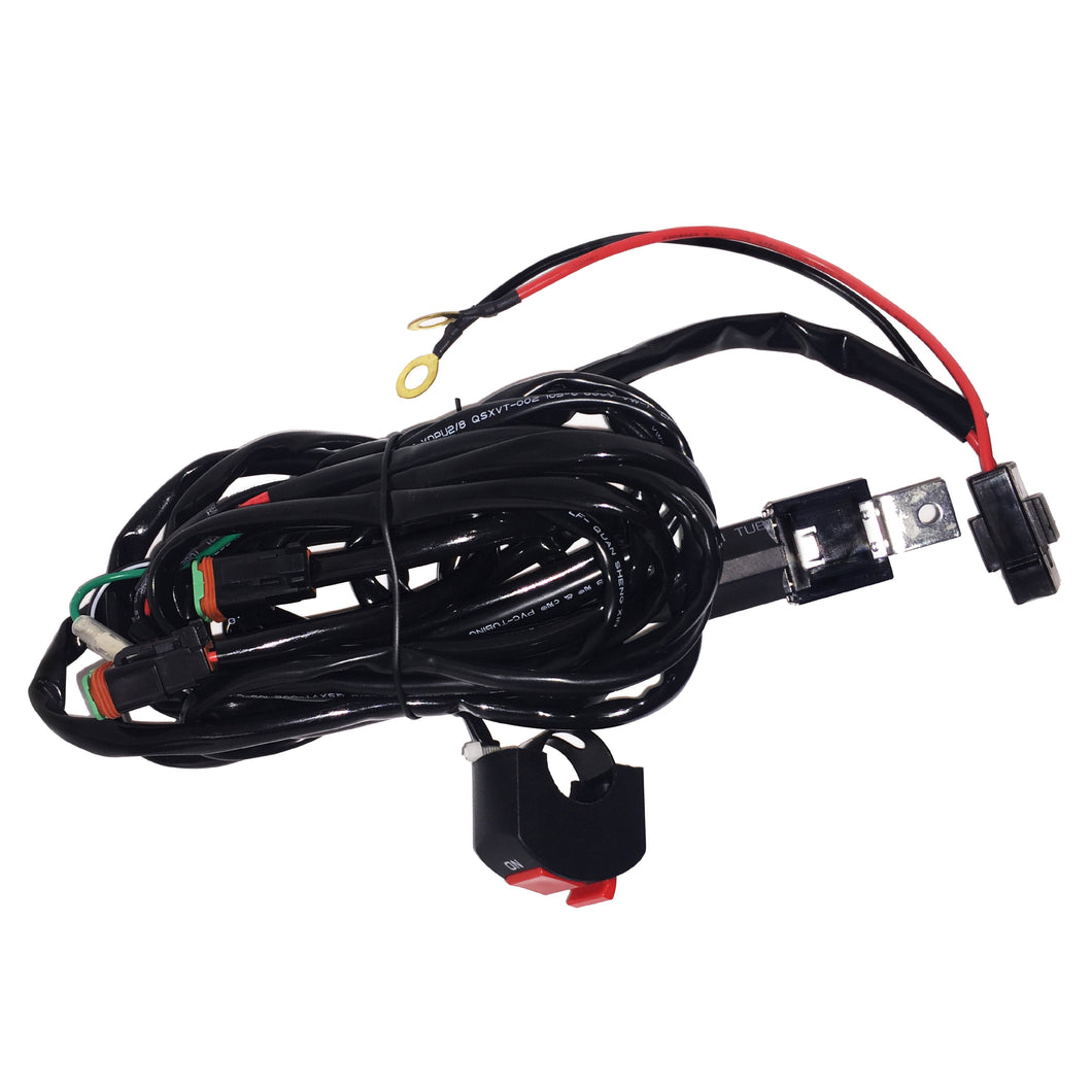 Extreme Lights | Motorbike Relay Wiring Harness For 2 X 10W Lights | the best Motorbike Light Accessories ever!