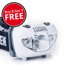 Extreme Lights | Basecamp Headlamp - Buy 2 + Get 1 Free | the best Headlamps ever!