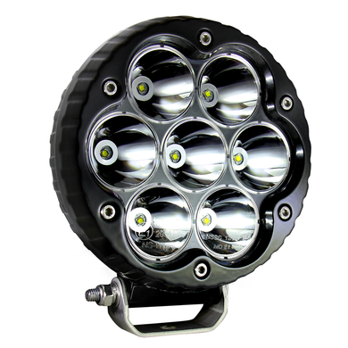 Extreme Lights | Version-2 Night Raider Black 70W Spot - 6 300 Lumen - SINGLE | the best Off-Road Lights ever!