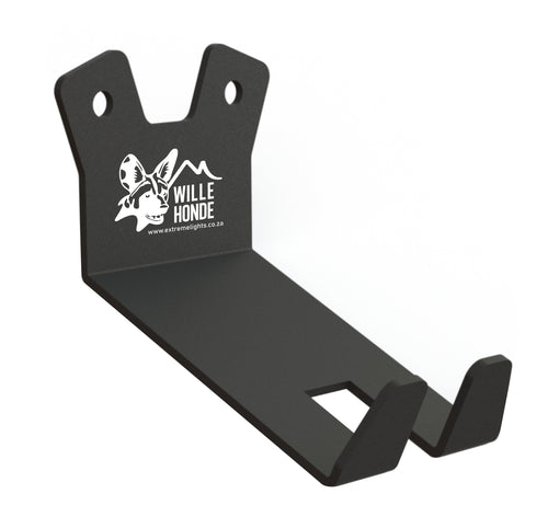 Wille Honde Bicycle Wall Mount Bracket - Black