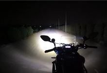 Extreme Lights Motorcycle Spots Beam Shot