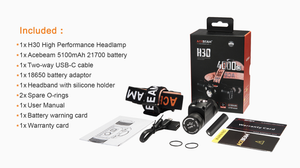 Acebeam H30 LED Rechargeable Headlamp