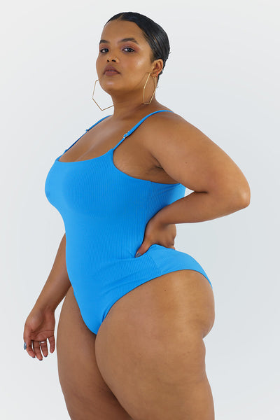 Ally One Piece // Blue RIB