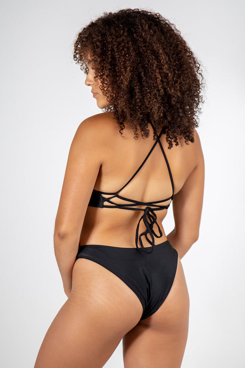 Cheeky Retro Bottom // Black