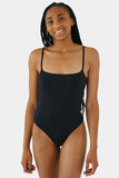 Ally One Piece // Black RIB
