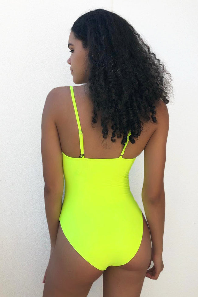 Classic Chloe One Piece // Yellow