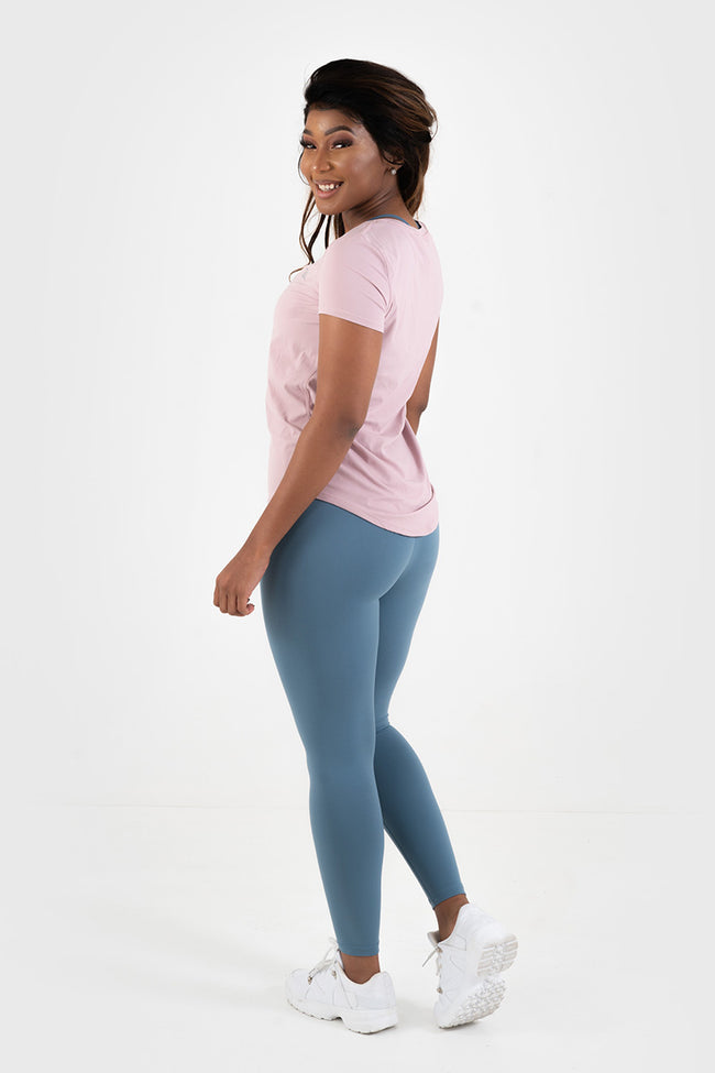 Core Leggings // Light Blue