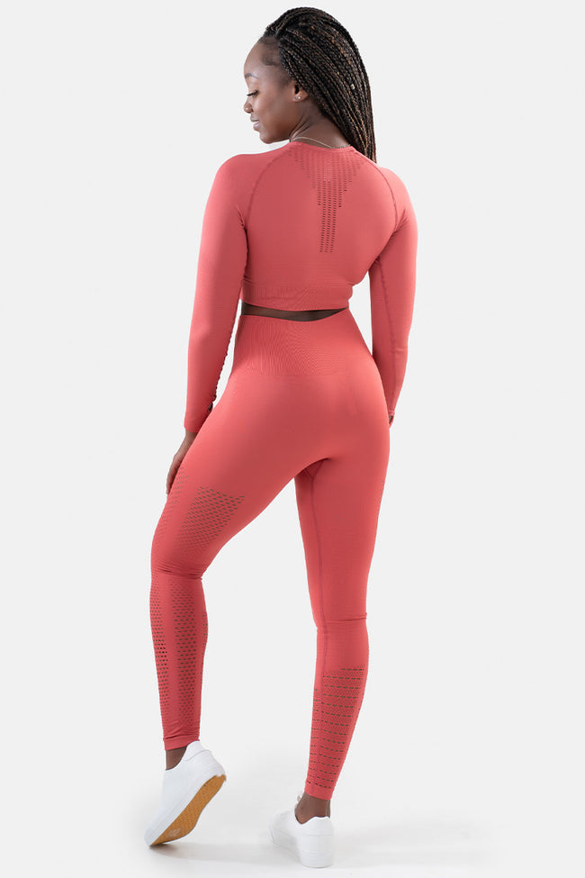 Ignite Seamless Leggings // Watermelon