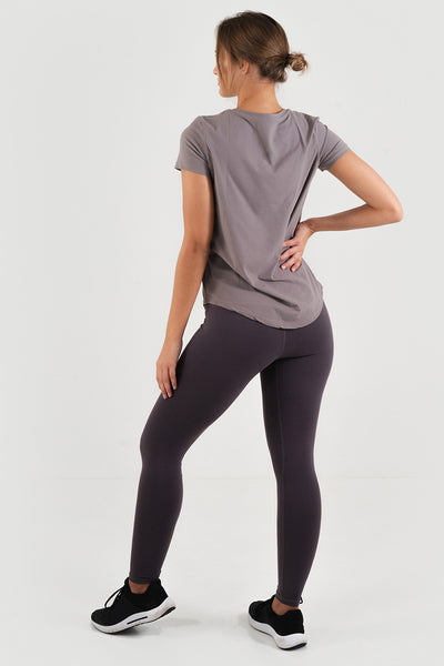 Core Leggings // Dark Purple
