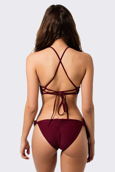 Cheeky Jane Bottom // Maroon