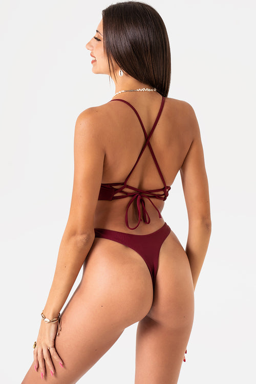 Tayla Bottom // Maroon