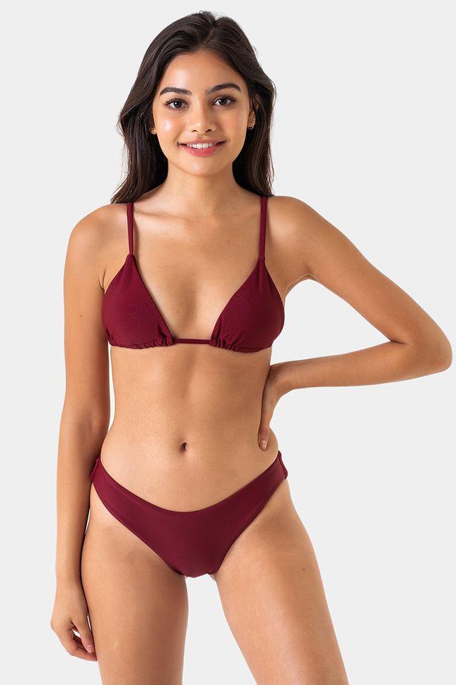 Cheeky Retro Bottom // Maroon