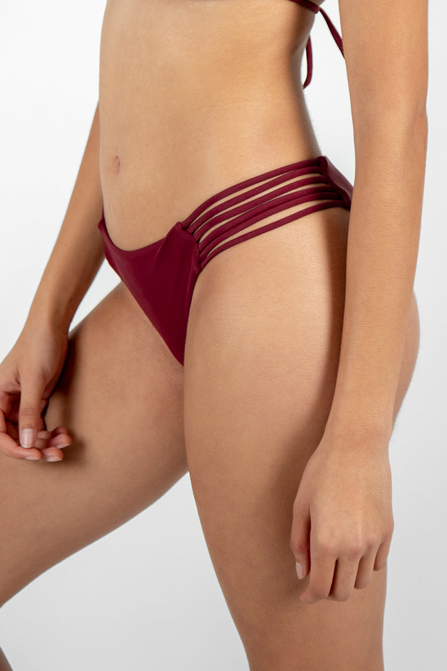 Cheeky Kirsty Bottom // Maroon
