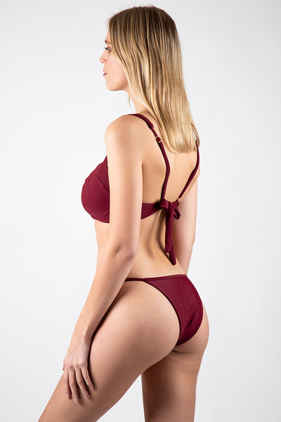 Cheeky Lauren Bottom // Maroon