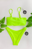 Cheeky Retro Bottom // Neon Yellow