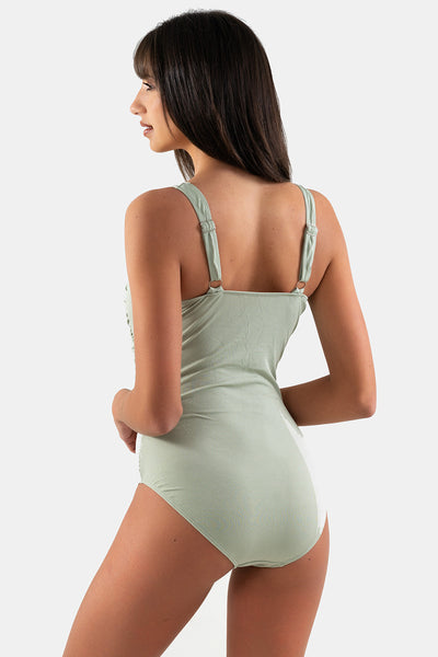 Shannon One Piece // Olive Rib
