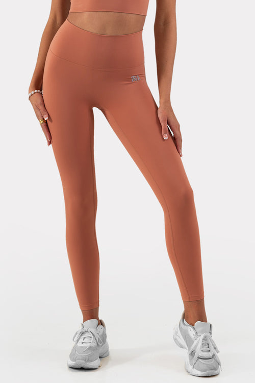 Spark Leggings // Orange