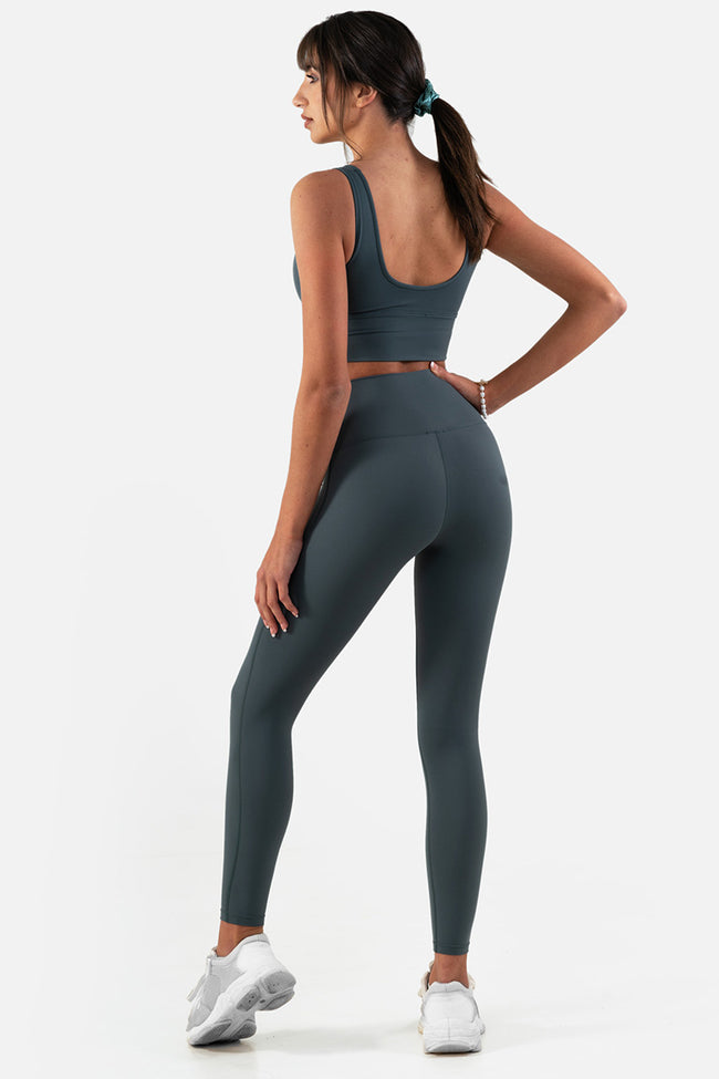 Spark Leggings // Green