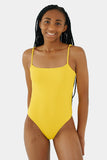 Ally One Piece // Yellow RIB