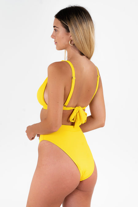 Cheeky Retro Bottom // Yellow RIB