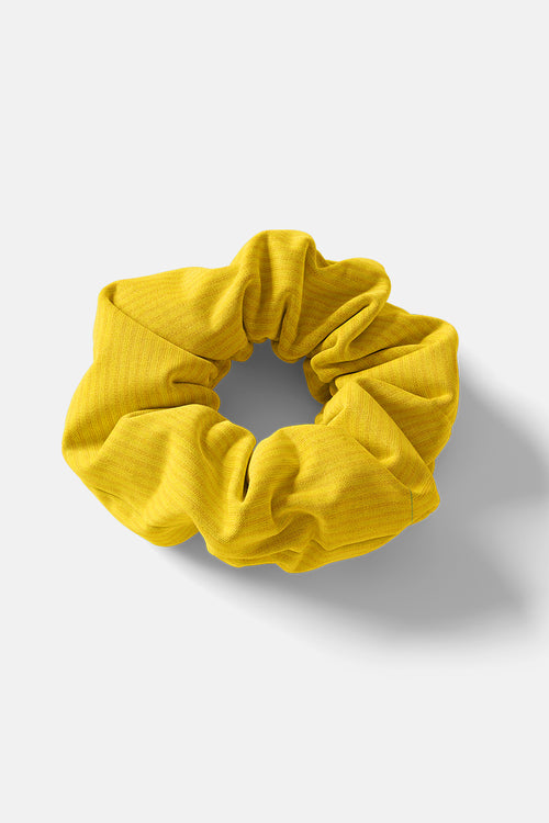 Scrunchie // Yellow Rib