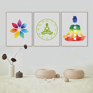 Chakra Meditation Limited Edition Wall Art - Yogi Clan