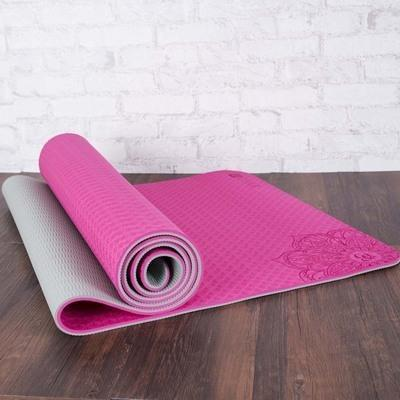 OM Element Design Eco Yoga Mat 6mm - Yogi Clan