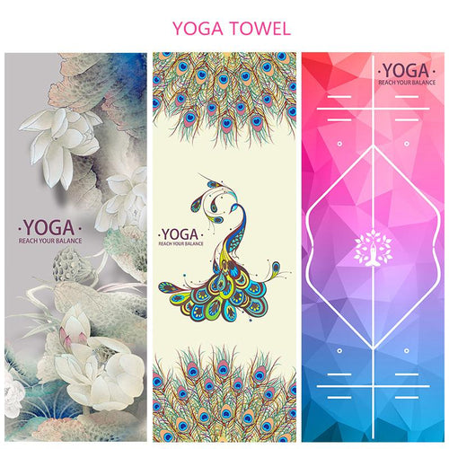 Microfiber Anti-skid Portable Towel - Yogi Clan