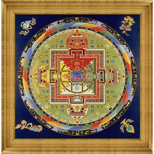 Mandala Tibet Thangka Modern Wall Art 2018 Limited Edition - Yogi Clan