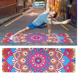 Non-slip Yoga Mat Natural Rubber 183*61*0.1cm - Yogi Clan