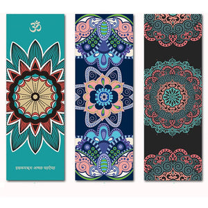 Mandala Spiritual Natural Rubber Yoga Mat - Yogi Clan