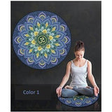 Traditional Indian Art Series Meditation and Yoga Mat - Yogi Clan