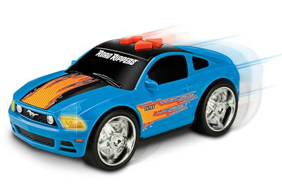 Road rippers street screamers mustang gt sininen, leluauto