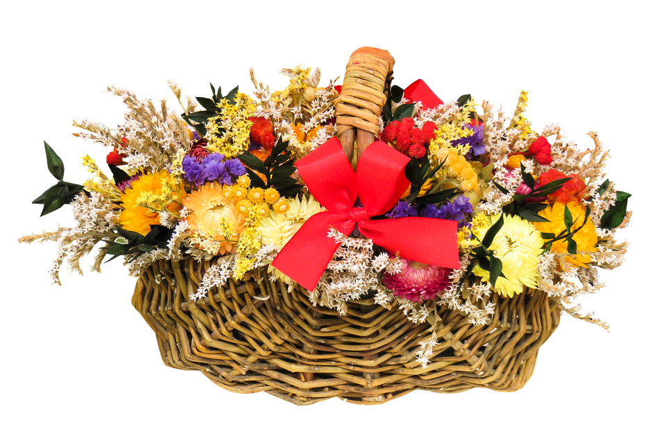 Garden Bloom Basket