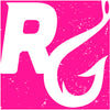 "Reel Girls 4"" x 4"" Pink Icon Waterproof Decal - Destin Outdoors"