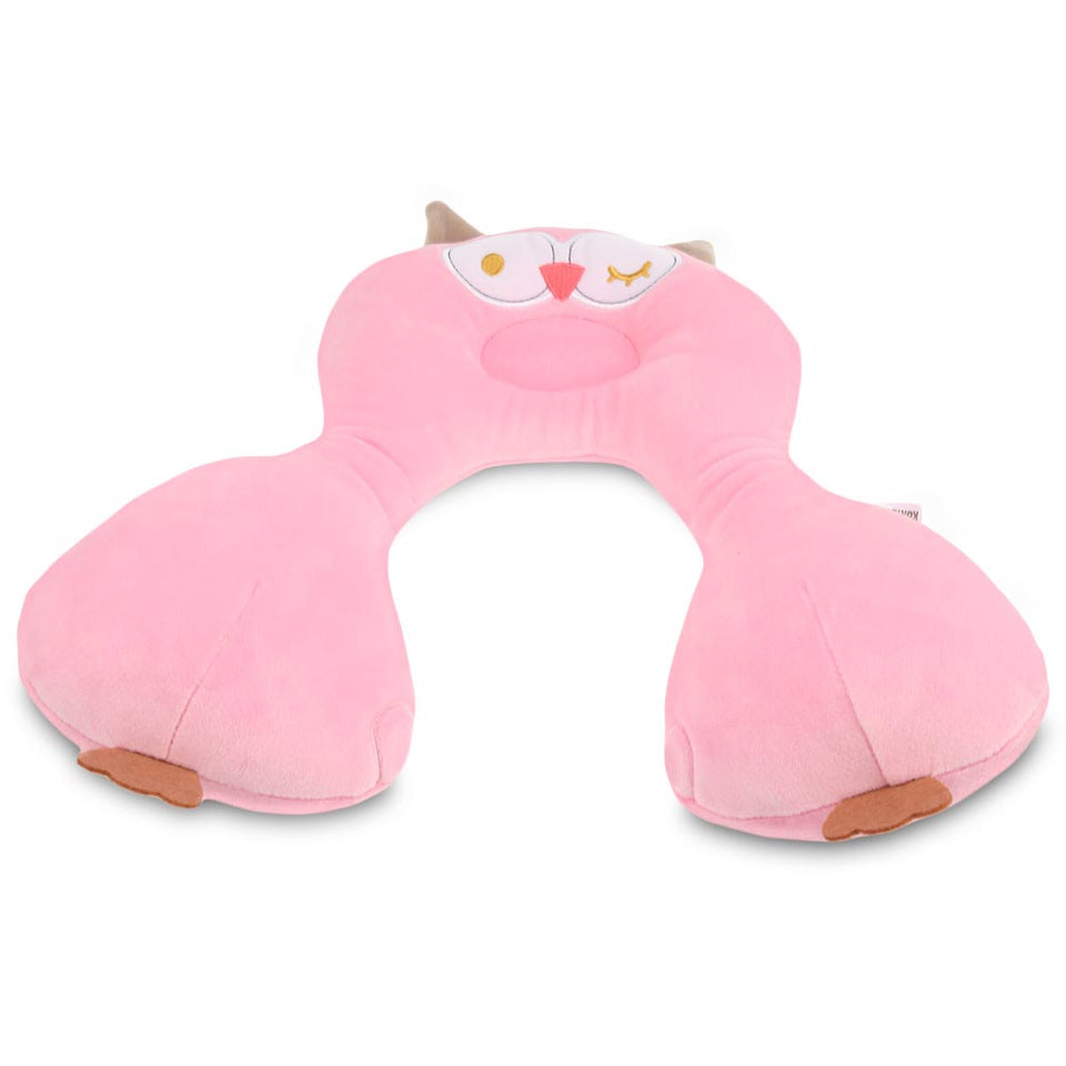 Cartoon Animal Baby Pillow Sleeping Headrest Neck Protection U-shaped Cushion