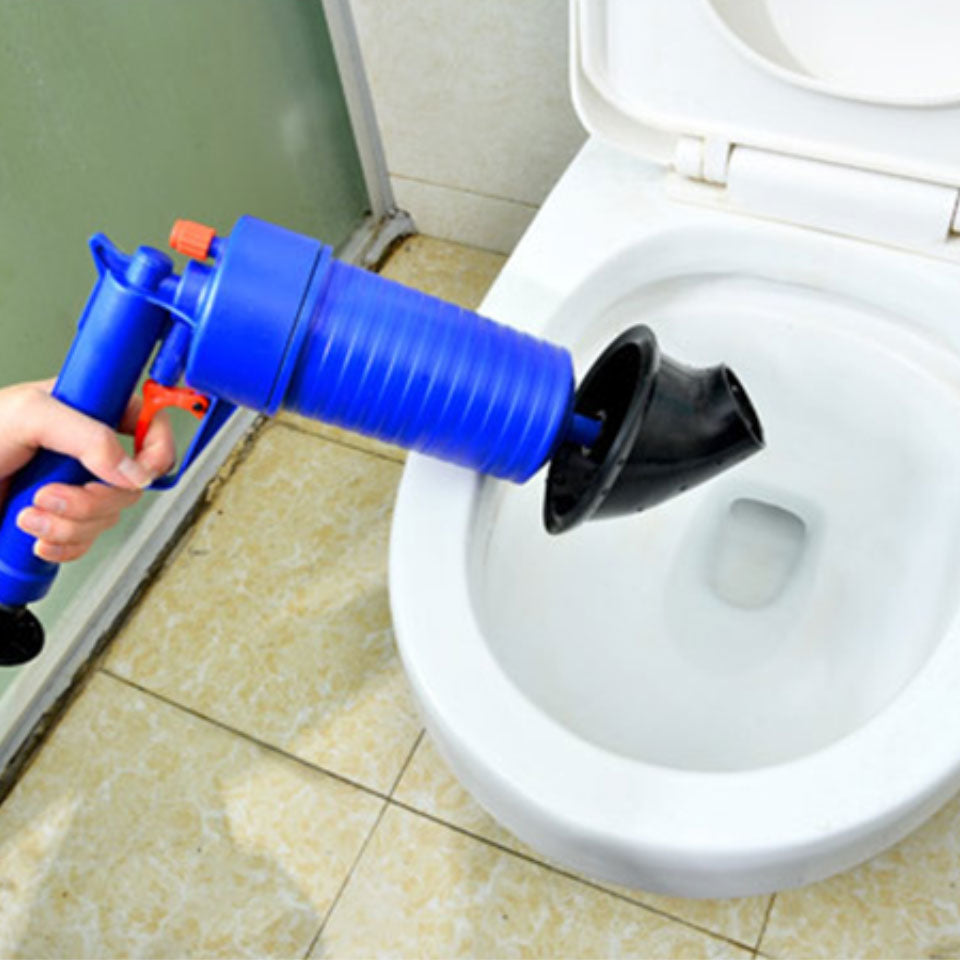 Home Air Drain Blaster Pump/Gun/Cleaner/Opener Plastic Unclog Toilet Plunger
