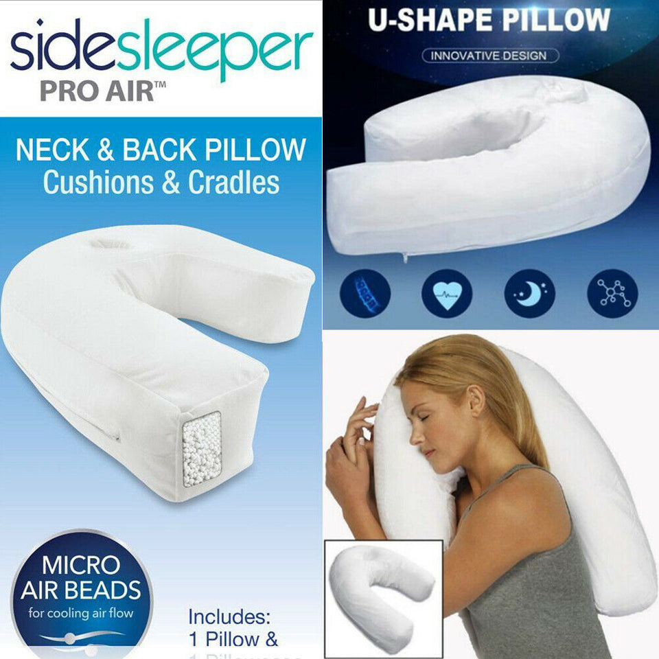 U Shaped Pillow Waist Support Pillow-in Body