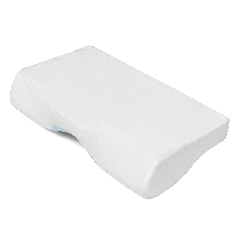1 Pcs Memory Foam Cool Gel Pillow Summer Ice-cool Anti-snore Neck Orthopedic Sleep Pillow Cushion