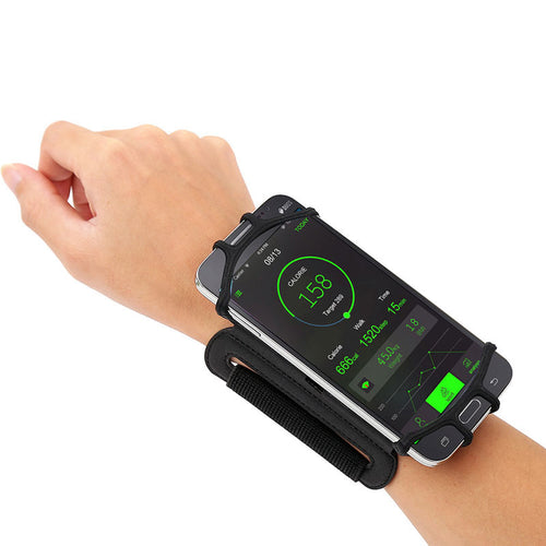 180 Degree Rotatable Running Wristband Phone Case