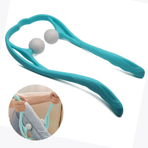 Neck and Shoulder Therapeutic Dual Trigger Point Self-Massage Tool