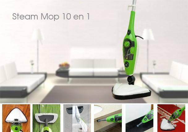 Unique Design 10 in 1 Multi-function Steam Mop X10 Steam Cleaner on TV