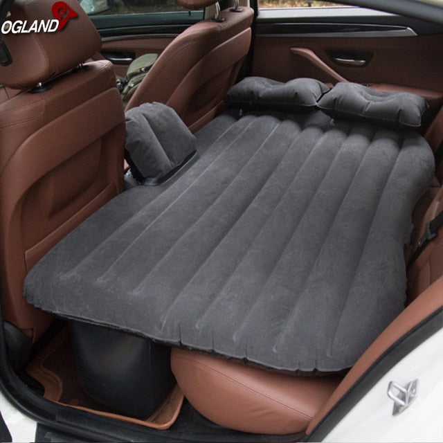 Car Air Inflatable Travel Mattress Bed Universal for Back Seat Multi functional Sofa Pillow Outdoor Camping Mat Cushion